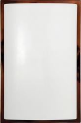 Plafon Garda brązowy połysk 3755